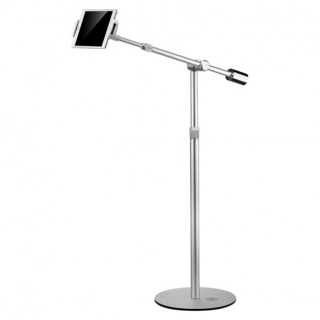 Suptek Floor Stand Height-Adjustable for 4.7-12.9 Inch Tablet Holder iPads, iphone,iPad Mini, New iPad Pro, Galaxy, Nexus, Xoom, Surface Pro, Miix, Nook, Fire, and Other Tablets and e Readers