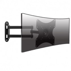 Suptek TV Wall Mount Monitor Bracket with Full Motion Articulating Arm for most 17-39 Inches LED, LCD TVs up to VESA 200x200mm and 55 LBS, with Tilt and Swivel