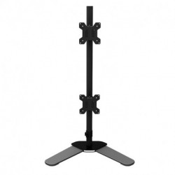 """Suptek Dual LCD LED Monitor Stand Desk Mount Bracket Heavy Duty Stacked, Holds Vertical 2 Screens up to 27"""" ML6802 (EAN: 0739450799423)"""