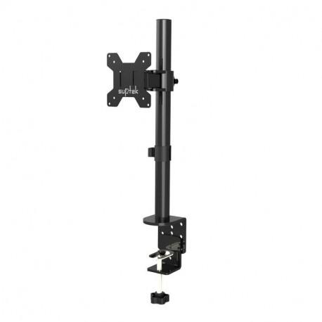 Suptek Fully Adjustable Single Arm Monitor Stand Desk