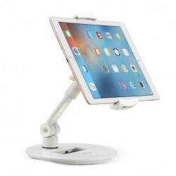 Suptek Tablet Holder Adjustable Table Stand Desktop Stand for Tablets & Tablet Smartphone up to 12.9 Inch fits Kitchen, Bedside, Office YF108DW (EAN: 0739450799782)
