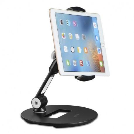 Suptek Tablet Stand Adjustable Table Holder Desktop Stand for Tablets & Tablet Smartphone up to 12.9 Inch fits Kitchen, Bedside, Office YF108D(EAN: 0739450799775)